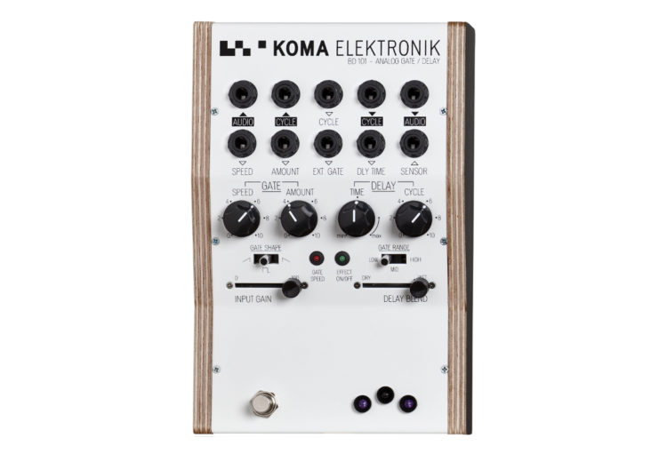 KOMA Elektronik BD101 & FT201 effect pedals to be discontinued.