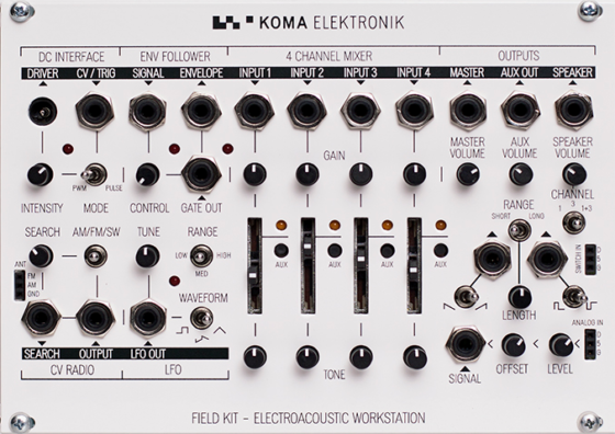 KOMA Elektronik Field Kit Eurorack Panel